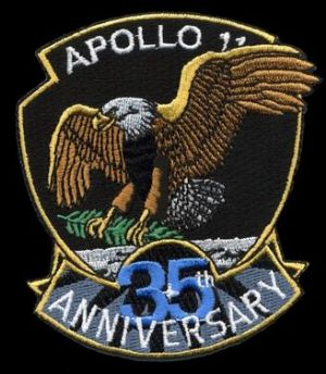 Apollo 11 35th Anniversary Official Patch
